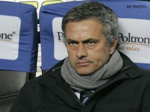 Jose Mourinho, seen here in March 2009, hit out at Italian football once again on Wednesday, insisting that the English league is a paradise for coaches in comparison.