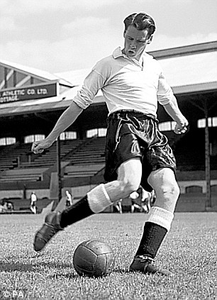 Sir Bobby during his Craven Cottage days