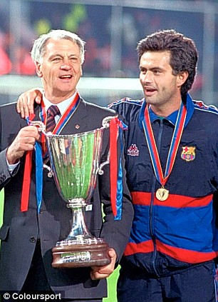 Robson mentored the 'Special One' Jose Mourinho during their time together at the Nou Camp