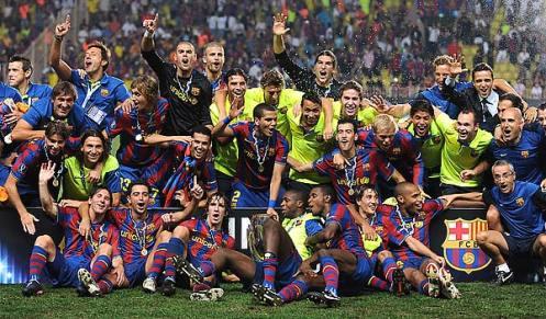 Barca UEFA super cup