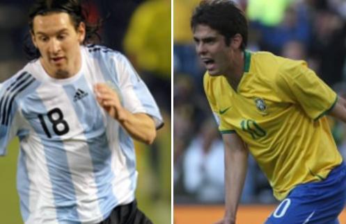 Kaka & Messi