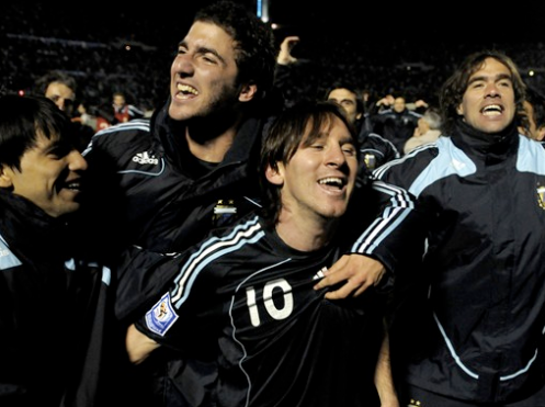 Higuain & Messi