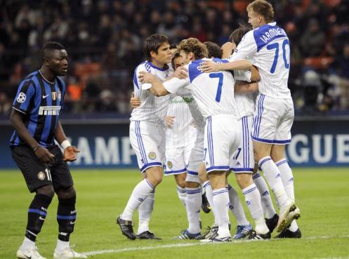 Inter & Dinamo Kiev